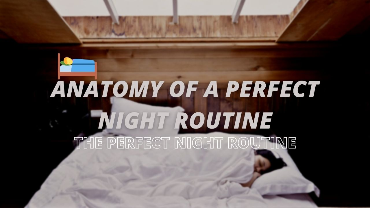 THE PERFECT NIGHT ROUTINE